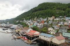 The charming port town of Ketchikan, Alaska