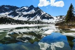 The dramatic landscape of Skagway, Alaska