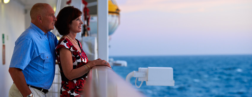 Using your mobile phone on a cruise