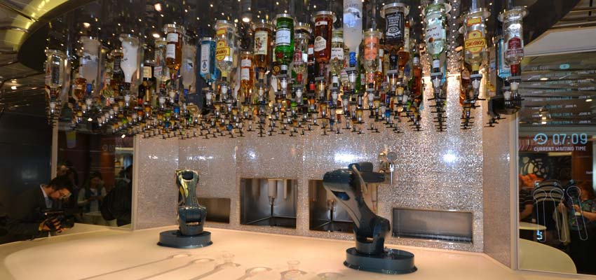 Anthem of the Seas' Bionic Bar