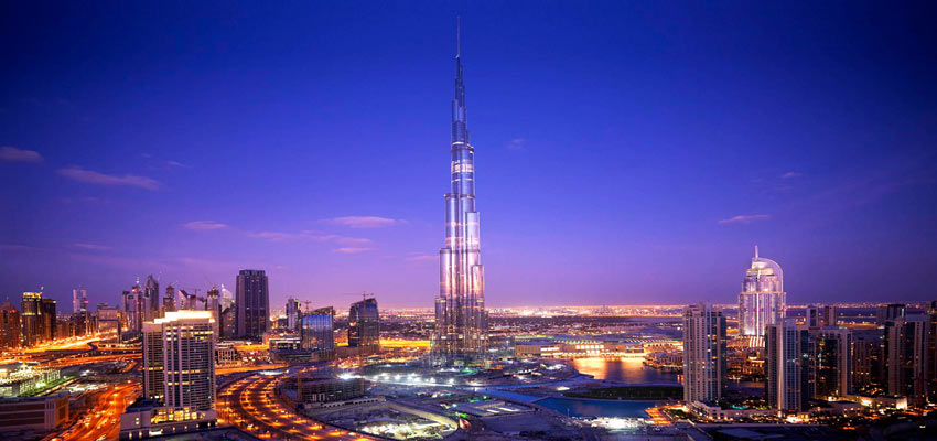 The Burj Khalifa - the world's tallest building