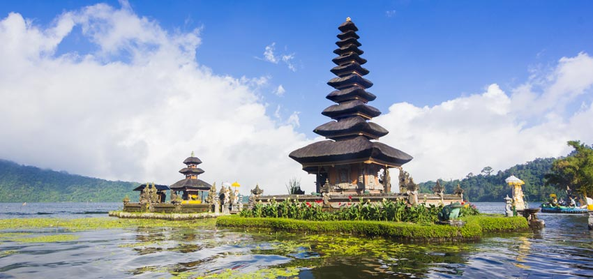 Historic temples of Bali