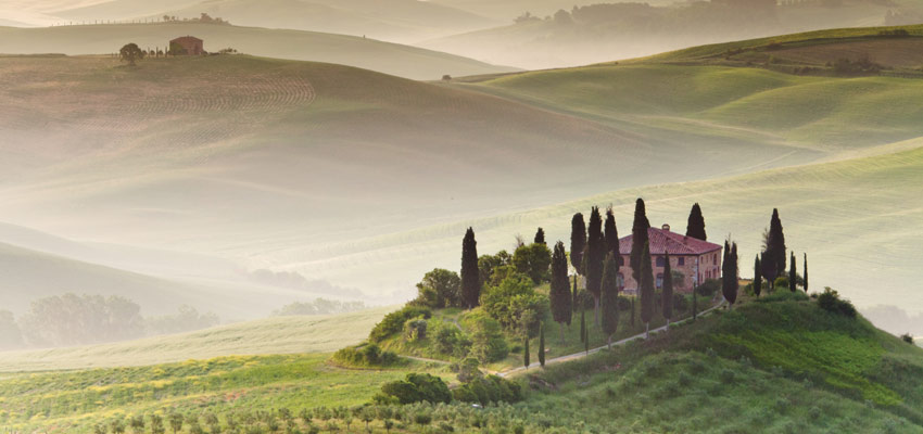 Best wine regions to visit on a cruise - Tuscany, Italy