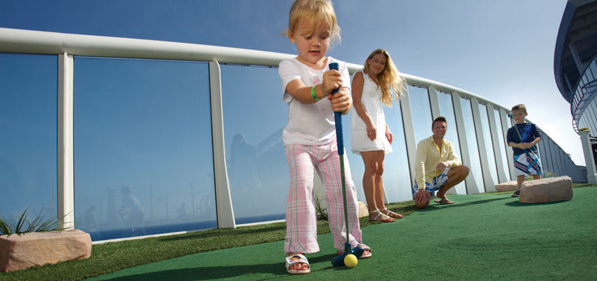 Activities for all ages on a cruise holiday
