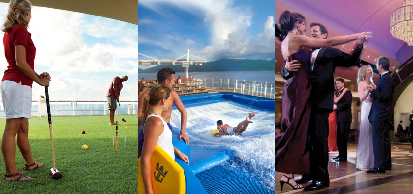 Pick your favourite cruise line
