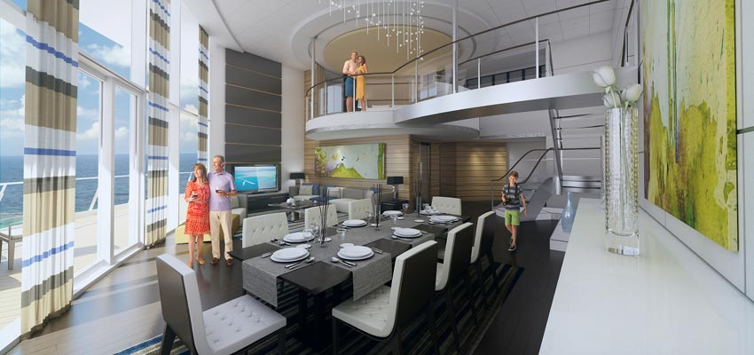 Royal Loft Suite aboard Royal Caribbean's Anthem of the Seas