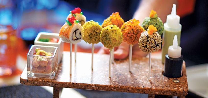 Innovative cuisine at Celebrity Cruises' Qsine dining venue