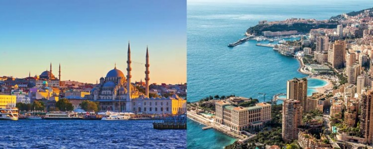 The Mediterranean: East vs West