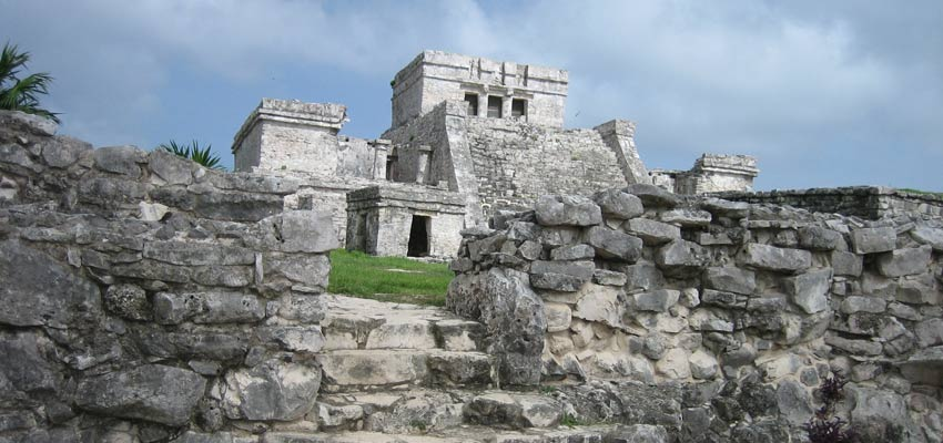Cozumel's ancient Mayan Tulum Ruins