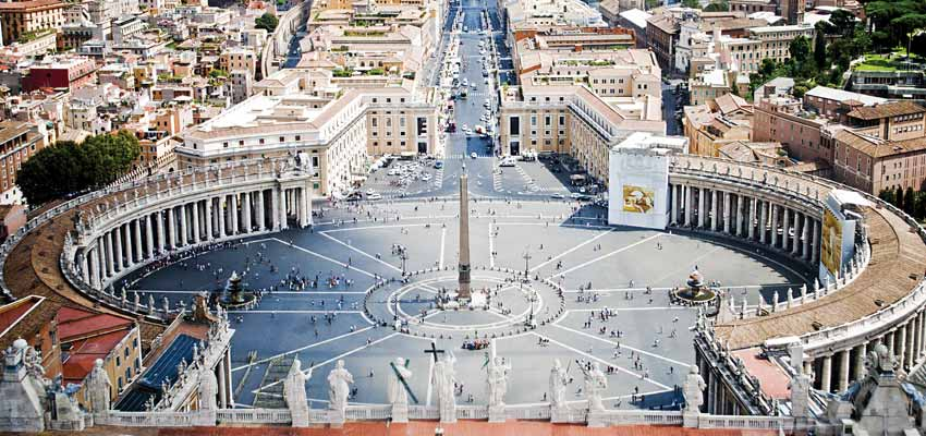 Incredible architecture in Vatican City
