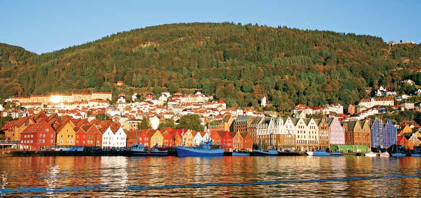 Bergen's beautiful waterfront
