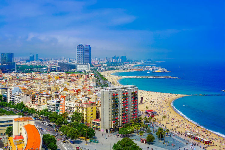 Barcelona - Nova Icaria Beach