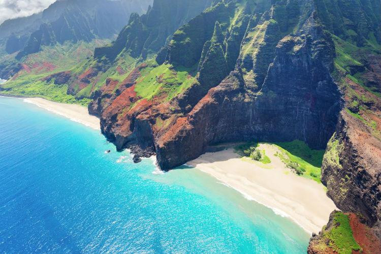 Honopu Beach, Kauai - Hawaii