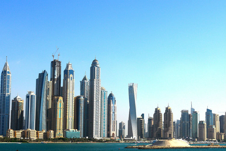 Dubai, Middle East - Skyline