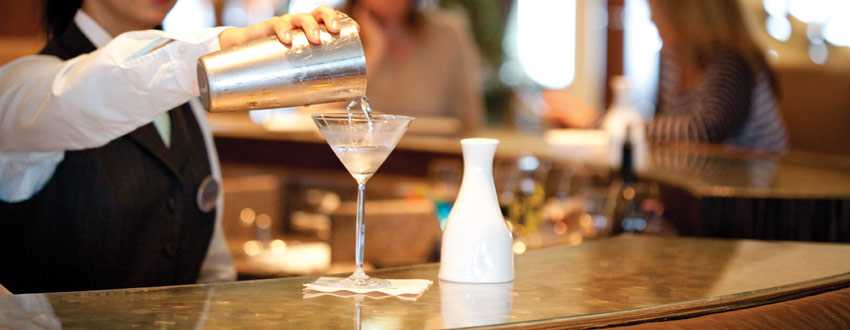 Top 5 cruise holiday cocktails