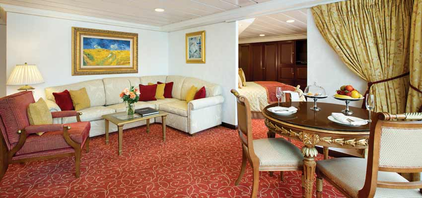 Luxurious and spacious suite accommodation