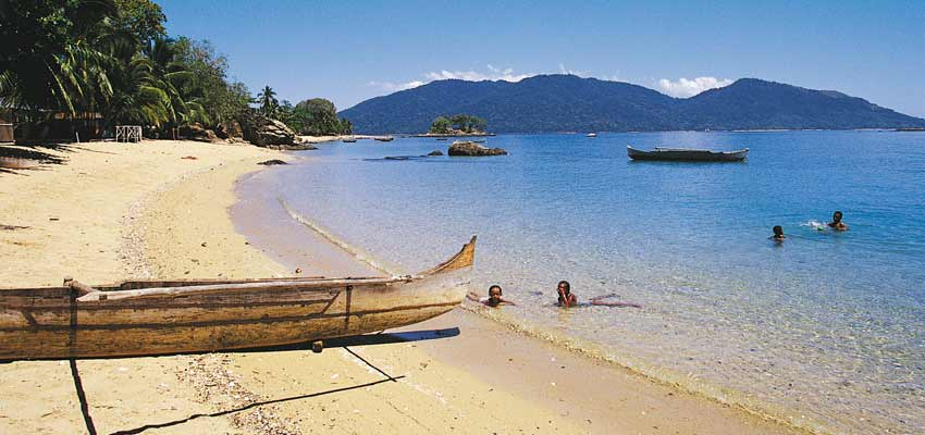 Nosy Be's stunning golden beaches