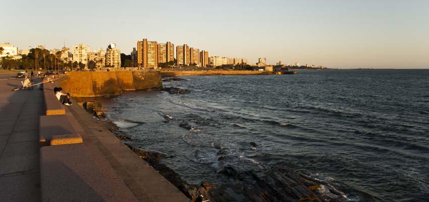 Montevideo's waterfront promenade