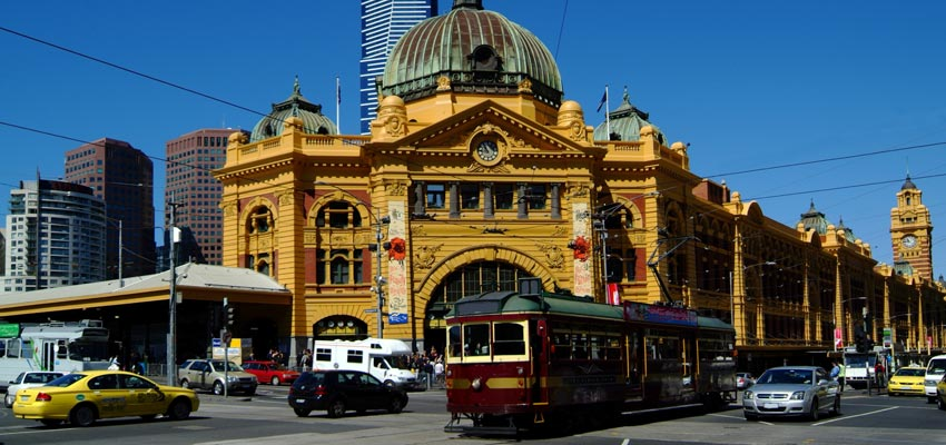Historic buildings in Melbourne's city centre