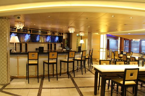 Bar on-board Celebrity Eclipse