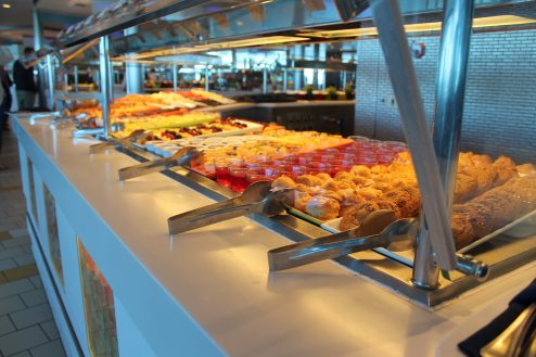 Food on-board Celebrity Eclipse