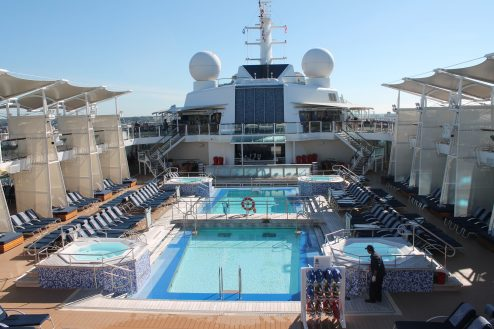 Pool on-board Celebrity Eclipse