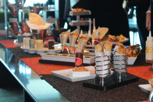 Dessert table on-board Celebrity Eclipse