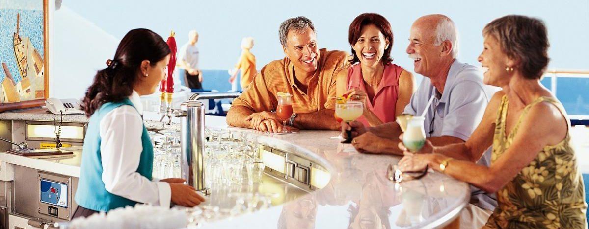 Cruise ship drinks