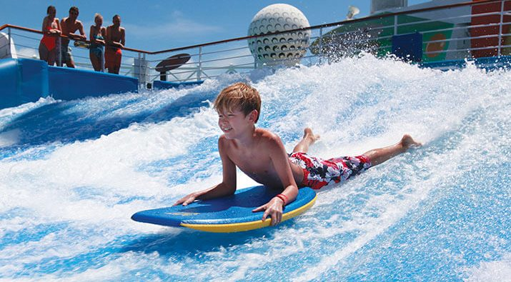 Flow Rider on-board Royal Caribbean