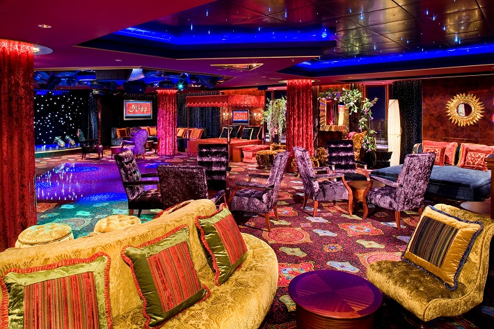 The Bliss Ultra Lounge Night Club on Norwegian Pearl