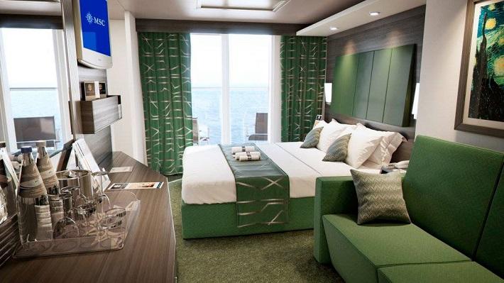 Cabin on-board MSC Meraviglia