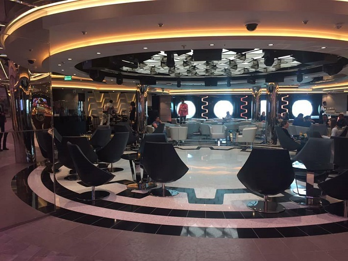 The Lounge on-board MSC Meraviglia