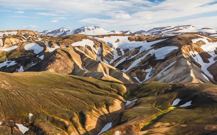Stunning landscape of Landmannalaugar