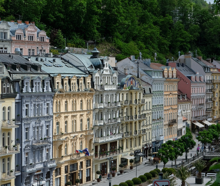 Inspiration behind Wes Anderson's The Grand Budapest Hotel - Karvlovy Vary in the Czech Republic