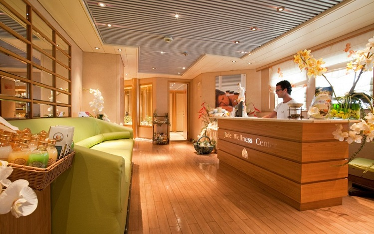 The Jade Wellness Centre on-board Cruise and Maritime Voyages' Maro Polo