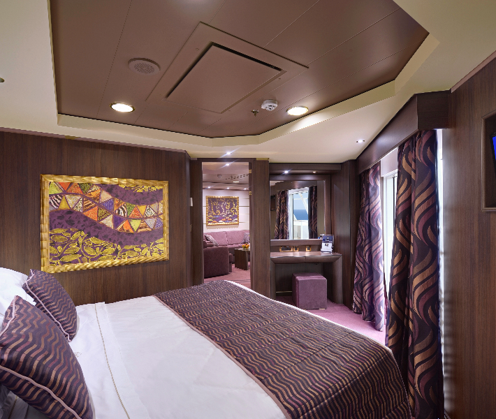 Accommodation on-board MSC Preziosa