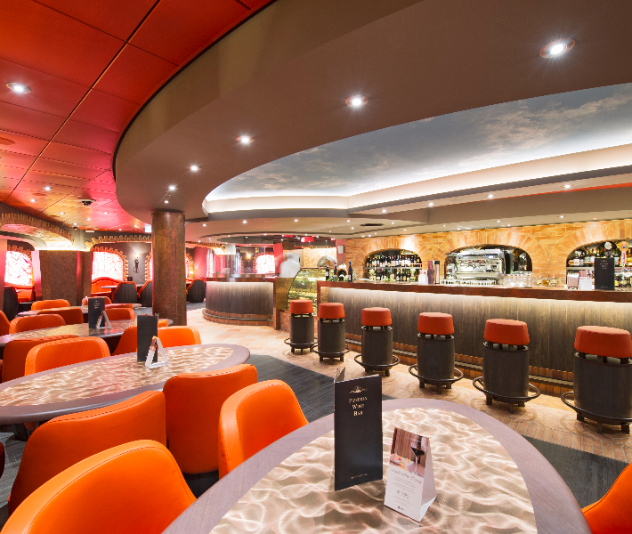 Bar and lounge on-board MSC Preziosa