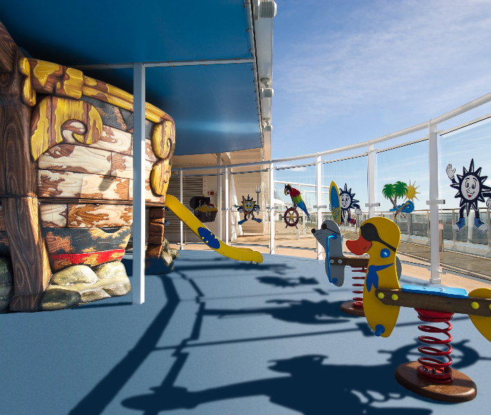 Kid's club on-board MSC Preziosa