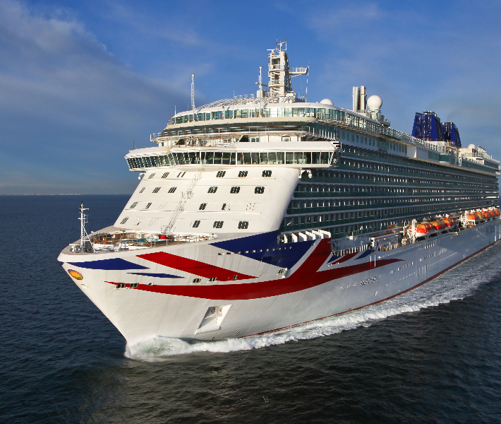 P&O Brittania - perfect for cruising from the UK