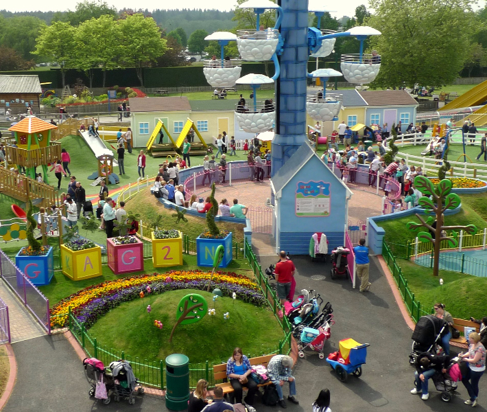 Outdoor at Peppa Pig World at Paulton's Park