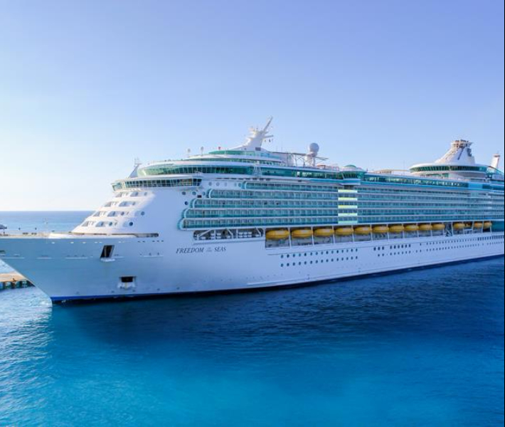 Royal Caribbean's Freedom of the Seas - A popular choice for first-time cruisers