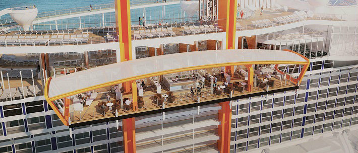 Celebrity Edge - The innovative Magic Carpet on the newest ship