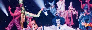 Cirque du Soleil performance on-board MSC Meravilgia