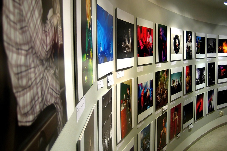 Images displayed in the Reykjavik Museum of Photography