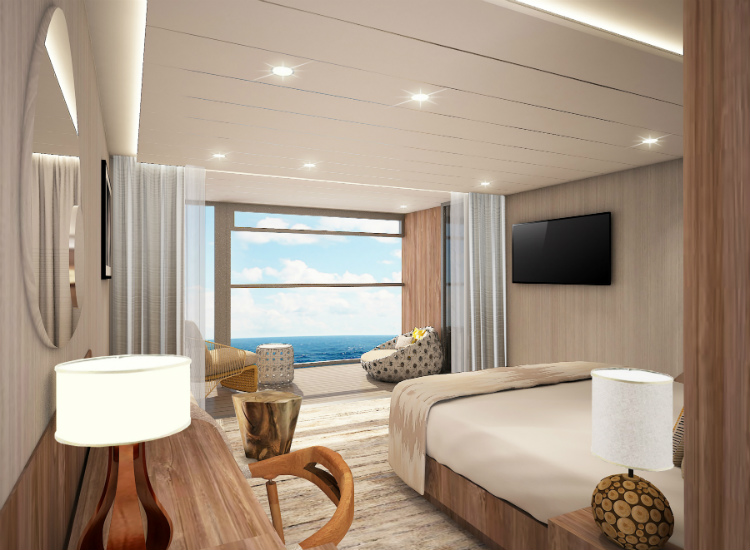 A Sky Suite with Infinite Balcony on-board Celebrity Flora