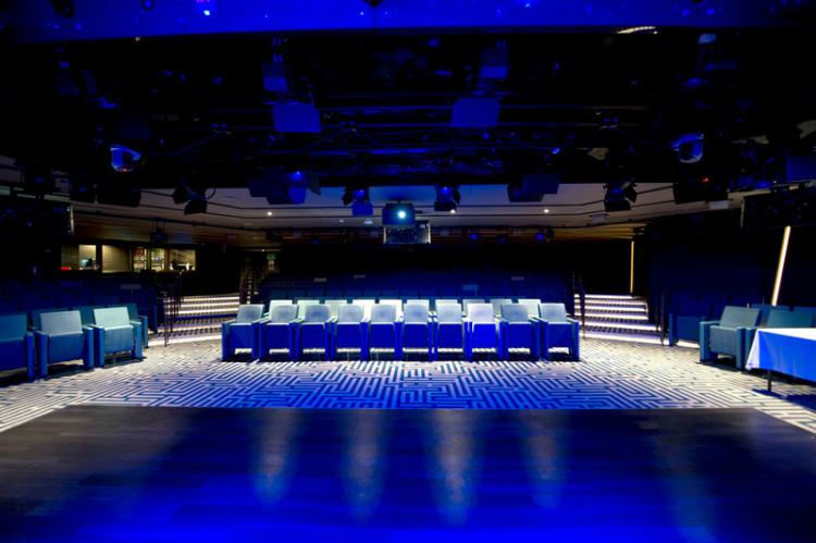 The Studio show venue on-board PO Cruises' Britannia cruise ship