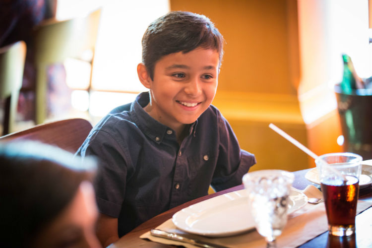 Kids' dining on-board Royal Caribbean