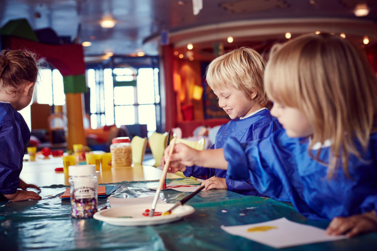Kids' club on P&O Cruises