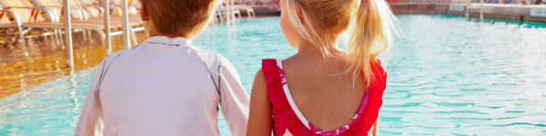 The top five cruise lines for two-year-old children