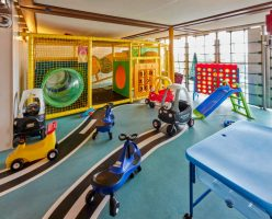 Kids' Zone on-board Cunard